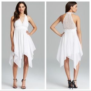 💗NWT💗GUESS White Crochet Lace Twisted Tank Dress